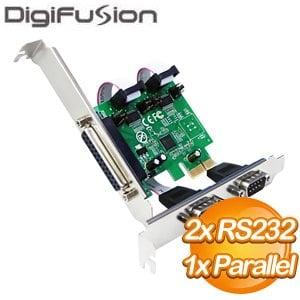 伽利略 PCI-E 2 埠 RS232 + 1 埠 Print 擴充卡(PETRP02A)