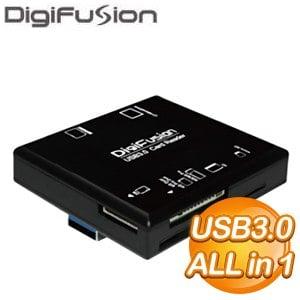 伽利略 極速 USB3.0 ALL IN 1多插槽讀卡機(RU062)