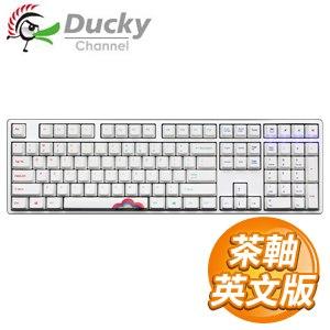 Ducky 創傑 One 彩虹版 茶軸 無背光 PBT熱昇華 機械式鍵盤《英文版》