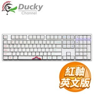 Ducky 創傑 One 彩虹版 紅軸 無背光 PBT熱昇華 機械式鍵盤《英文版》