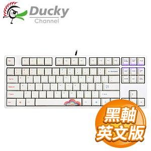 Ducky 創傑 One 80%彩虹版 黑軸 無背光 PBT熱昇華 機械式鍵盤《英文版》