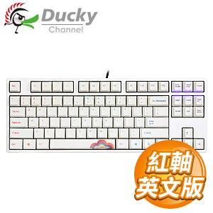 Ducky 創傑 One 80%彩虹版 紅軸 無背光 PBT熱昇華 機械式鍵盤《英文版》