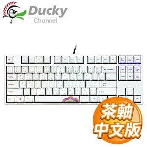Ducky 創傑 One 80%彩虹版 茶軸 無背光 PBT熱昇華 機械式鍵盤《中文版》