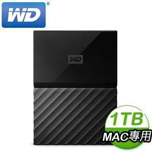 WD 威騰 My Passport for Mac 1TB 2.5吋 USB3.0 行動硬碟(WESN)