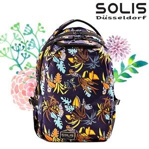 【SOLIS】基本款電腦後背包-熱帶天堂鳥Paradise-熱帶桔 Reise 小(B0502029)