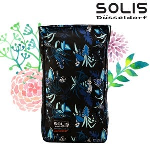 【SOLIS】多功能方型平板電腦背包-熱帶天堂鳥Paradise-熱帶藍(B09014)