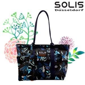 【SOLIS】2 WAYS 側背包-熱帶天堂鳥Paradise-熱帶藍(B2102001)