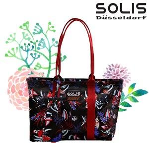 【SOLIS】2 WAYS 側背包-熱帶天堂鳥Paradise-熱帶紅(B2102002)