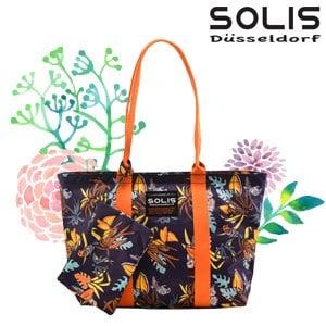【SOLIS】2 WAYS 側背包-熱帶天堂鳥Paradise-熱帶桔(B2102003)