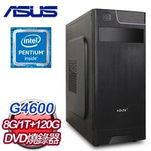 《本週特殺》華碩 MANAGER【妖刀村正】INTEL G4600 1TB+120G SSD 超值文書機