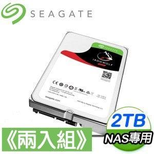 Seagate 希捷 那嘶狼 2TB NAS專用硬碟《兩入組》