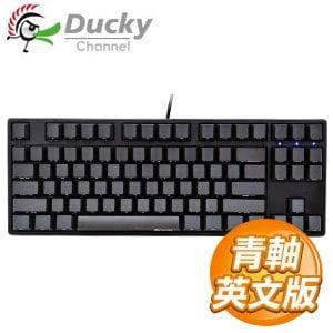 Ducky 創傑 One 80% 青軸 PBT 側印版 機械式鍵盤《英文版》