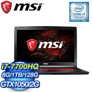 MSI 微星 MSI GL72M 7RDX-1003TW-BB7770H8G1T0DX10MH 17吋筆記型電腦