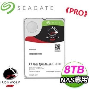 Seagate 希捷 那嘶狼Pro 8TB 7200轉 SATA3 氦氣NAS專用硬碟(ST8000NE0004)