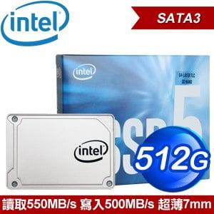 Intel 545s 512G 2.5吋 SATA SSD固態硬碟(TLC)