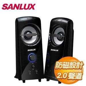 SANLUX 三洋 2.0聲道多媒體電腦喇叭~雷之音  SYSP~927
