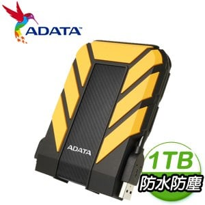 ADATA 威剛 HD710 Pro 1TB 2.5吋 USB3.1 軍規防水防震外接硬碟《黃》