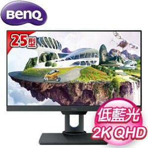 BenQ 明基 PD2500Q 25型 不閃屏+低藍光 專業設計螢幕