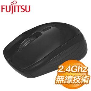 FUJITSU 富士通 FR400 USB無線光學滑鼠《黑》