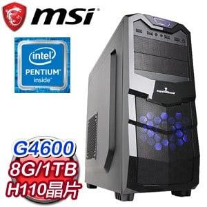 微星 MANAGER【上班不要看】Intel G4600 高效能燒錄電腦