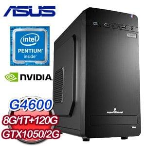 華碩 MANAGER【大刀闊斧II】Intel G4600 獨顯SSD商務電腦