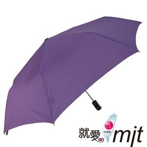 【微笑MIT】張萬春洋傘-防風自動開收奈米超撥水傘 AT3012-01(紫)