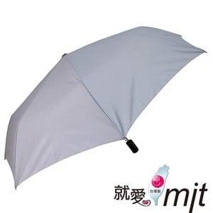 【微笑MIT】張萬春洋傘-防風自動開收奈米超撥水傘 AT3012-02(灰)