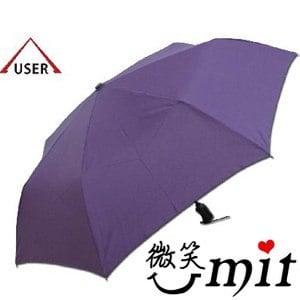 【微笑MIT】張萬春洋傘-奈米超撥水自動開收傘 AT3011(紫)