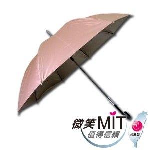 【微笑MIT】張萬春洋傘-直立式一級遮光降溫傘 AT1015(卡其)