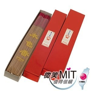 【施美玉本色香】老山檀1尺6立香(No:3036/600g/盒)