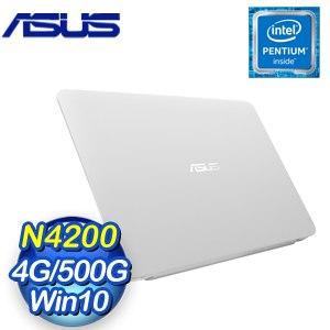 ASUS 華碩 X441NA-0023GN4200 14吋筆記型電腦 (白)