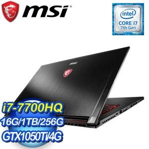 MSI 微星 GS73 7RE-023TW 17吋電競筆記型電腦