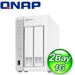 QNAP 威聯通 TS-231P2-1G 2Bay NAS 網路儲存伺服器