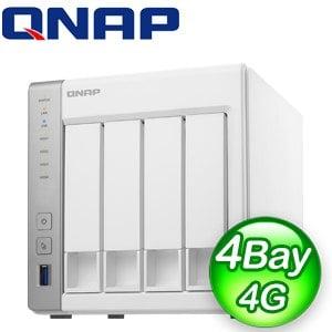 QNAP 威聯通 TS-431P2-4G NAS 網路儲存伺服器