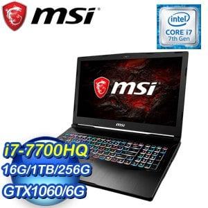 MSI 微星【GE73VR 7RE-209TW】17.3吋筆記型電腦