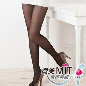 【微笑MIT】華貴絲襪 3.5.7專業塑型加褲叉超彈性絲襪 3入(黑)