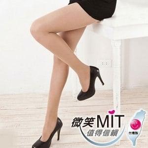 【微笑MIT】華貴絲襪 3.5.7專業塑型加褲叉超彈性絲襪 3入(膚)