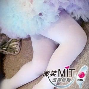 【微笑MIT】華貴絲襪 超細棉絨兒童韻律襪 2雙(白色)SS~S(1~6歲)