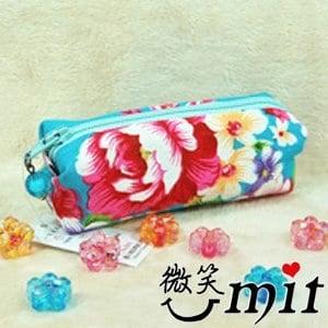 【微笑MIT】雅人手作 花布小物袋(Y101-0381/紫花)