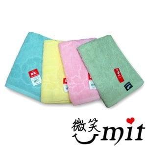 【微笑MIT】舒特 剪絨提花枕巾 JJC-240(粉/2入)