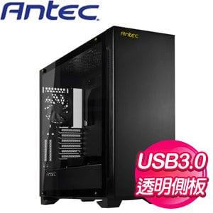 Antec 安鈦克【P110 Luce】玻璃透側 ATX電腦機殼《黑》