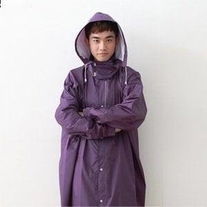 ~BrightDay~風雨衣連身式 桑德史東T4前開款 星夜紫 M