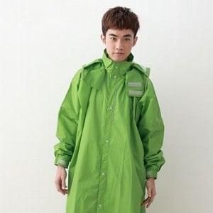 【BrightDay】風雨衣連身式 桑德史東T4前開款(雷霆綠/XL)