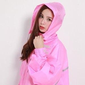 ~BrightDay~風雨衣連身式 桑德史東T4前開款 櫻雨粉 XL