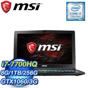MSI 微星 GP62MVR 7RFX-887TW 15.6吋筆記型電
