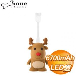 Bone 麋鹿公仔 6700mAh 行動電源《LED燈組》