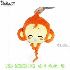 Lepont USB MOMOKING暖手抱枕-橘