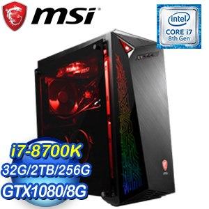 MSI 微星 Infinite X VR8RE-009TW 電競桌上型電腦