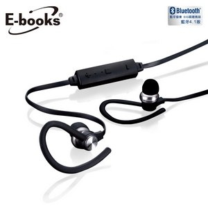 E~books S67 藍牙4.1鋁製磁吸耳掛式耳機