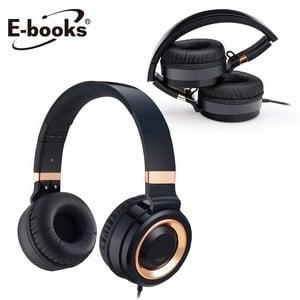 E~books S62 全音頻頭戴式音控摺疊耳麥